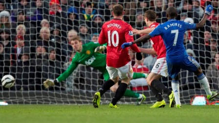 Manchester United and Chelsea FC drew 2-2 in an extraordinary football game for the sixth round of the FA Cup