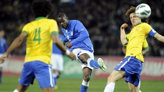 Italy vs Brazil 2-2: show in Geneve