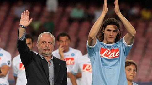 De Laurentiis: Cavani and Mazzarri will remain