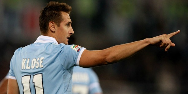 Lazio comes down in the world