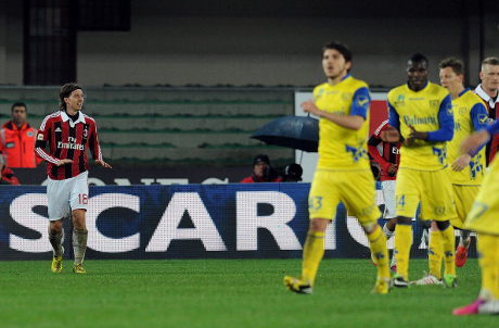 Chievo vs AC Milan 0-1