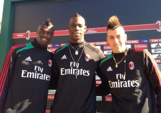 AC Milan, Niang: I am dreaming my first goal. Balotelli, a new injury?