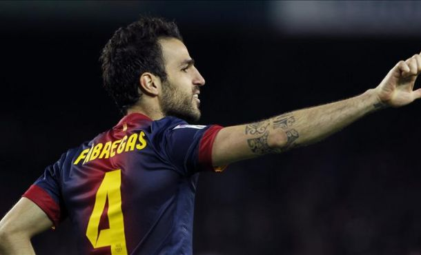 Cesc and his amazing Hat-trick