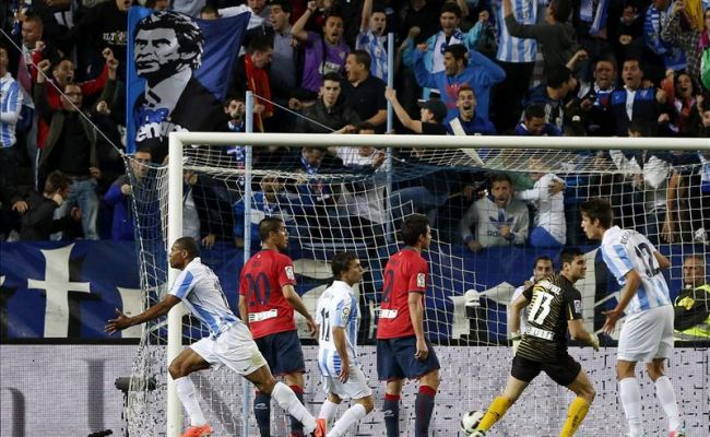 1-0: Malaga´s turn to smile in the added time