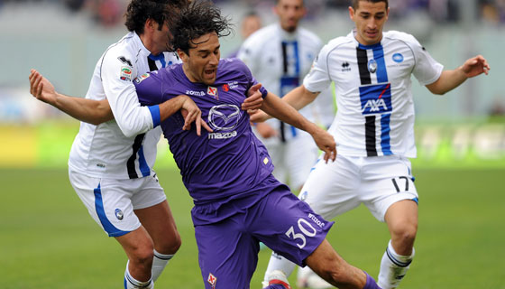Towards Atalanta-Fiorentina