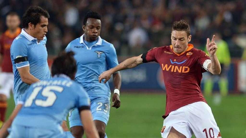 Roma vs Lazio 1-1