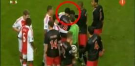 Luis Suarez bites Ivanovic and stops Chelsea