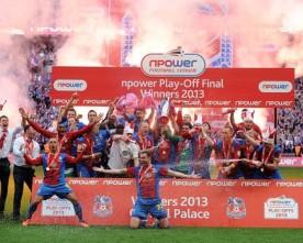 Crystal Palace beat Watford in Championship play-off final